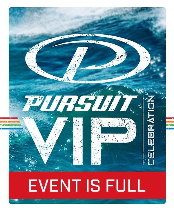 Pursuit VIP Celebration Logo - Event is full