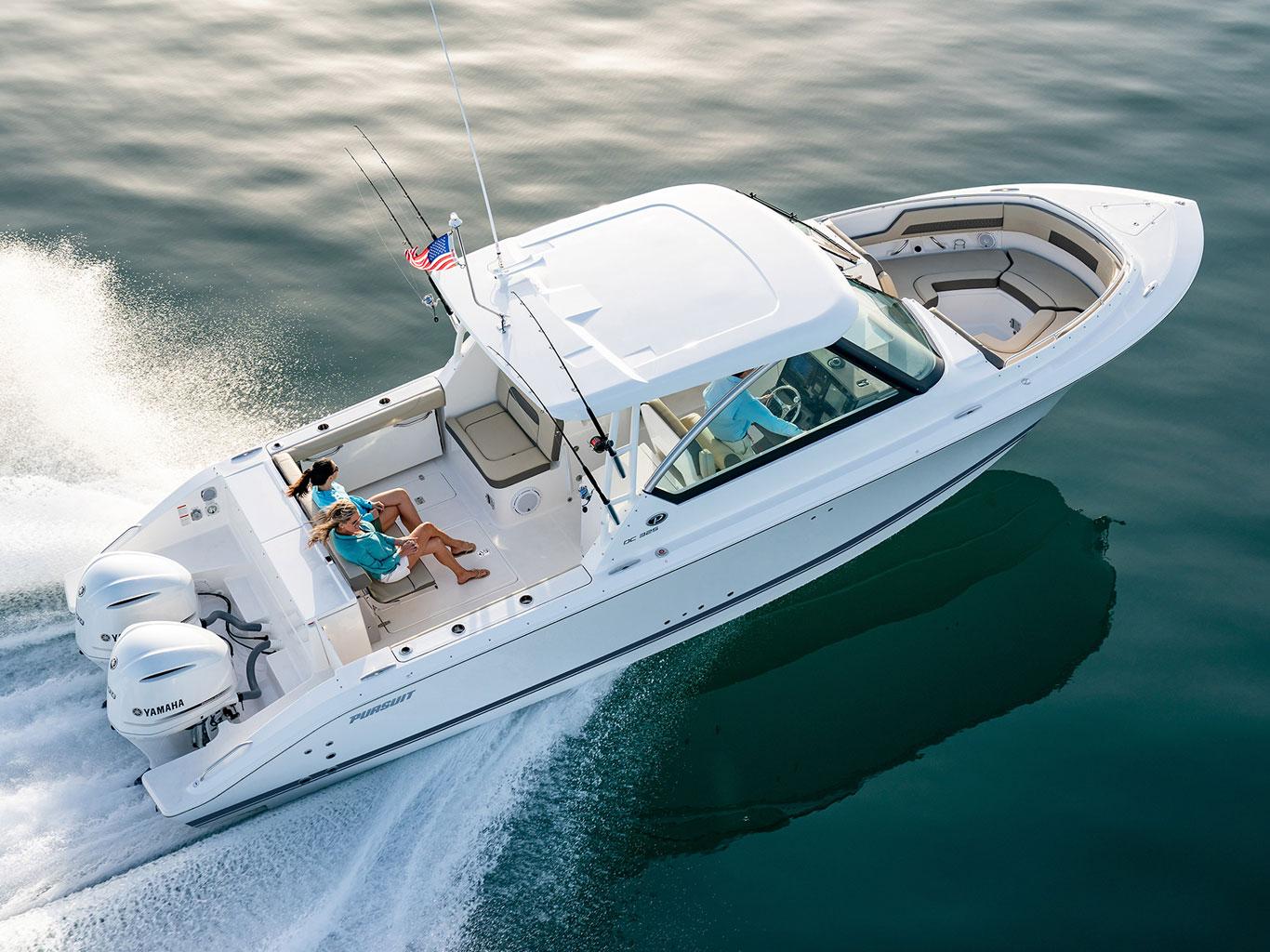 Pursuit Boats Dc 325 Dual Console