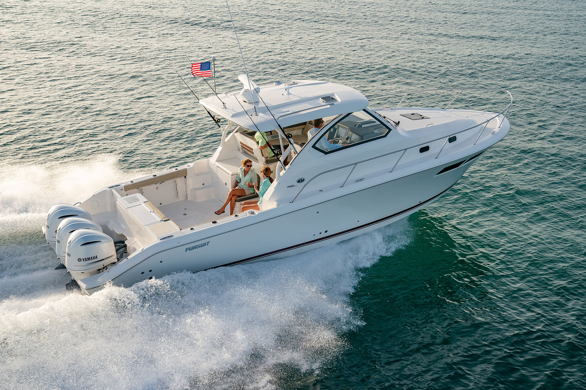 PURSUIT BOATS - OS 355 OFFSHORE
