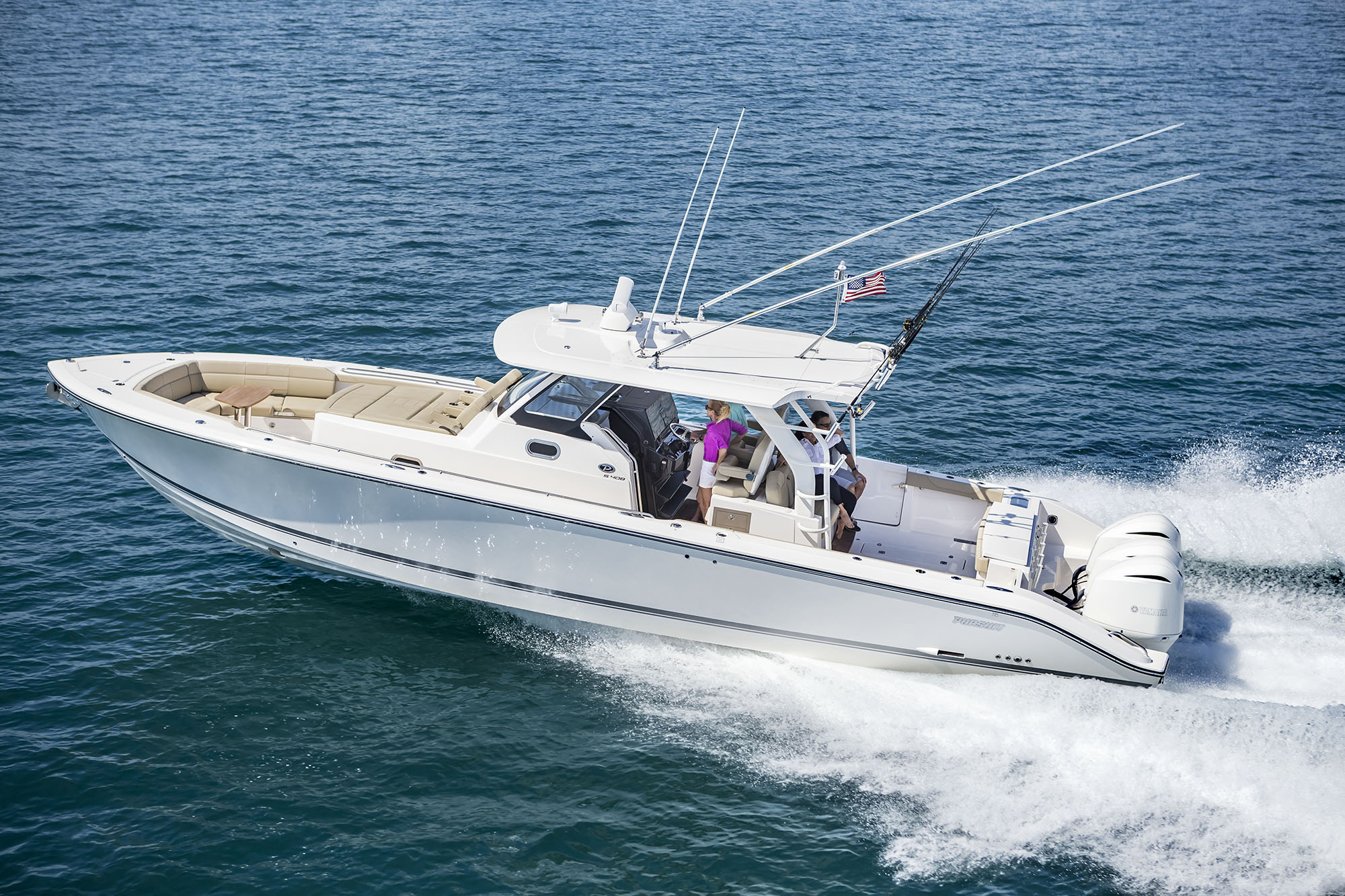 PURSUIT BOATS - S 408 SPORT