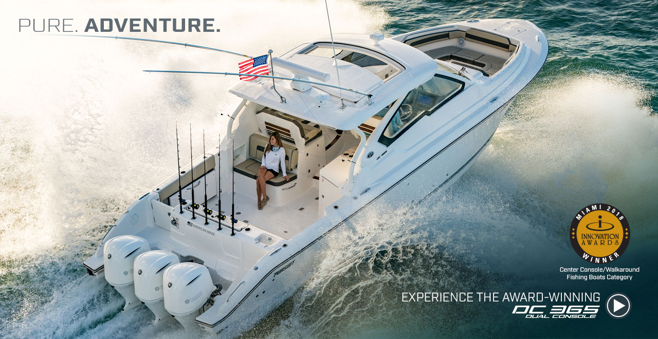 Pure. Adventure. Experience the award winning DC 365 Dual Console. Watch video now.
