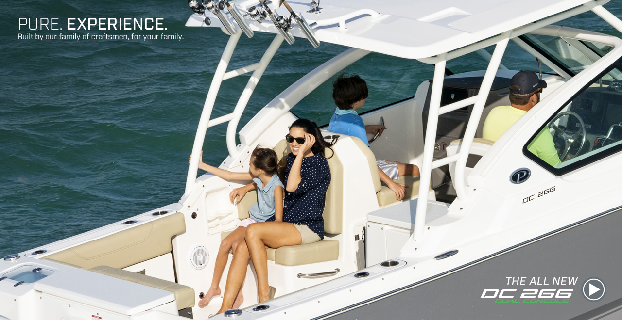 Pure. Experience. Built by our family of craftsmen, for your family. The All New DC 266 Dual Console. Watch video now.