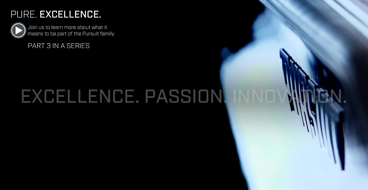 PURE. Excellence. Join us to learn more about what it means to be part of the Pursuit family. Part 3 in a Series. Watch video now.