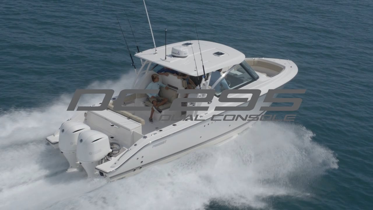 Introducing Pursuit's DC 295 Dual Console Boat Video