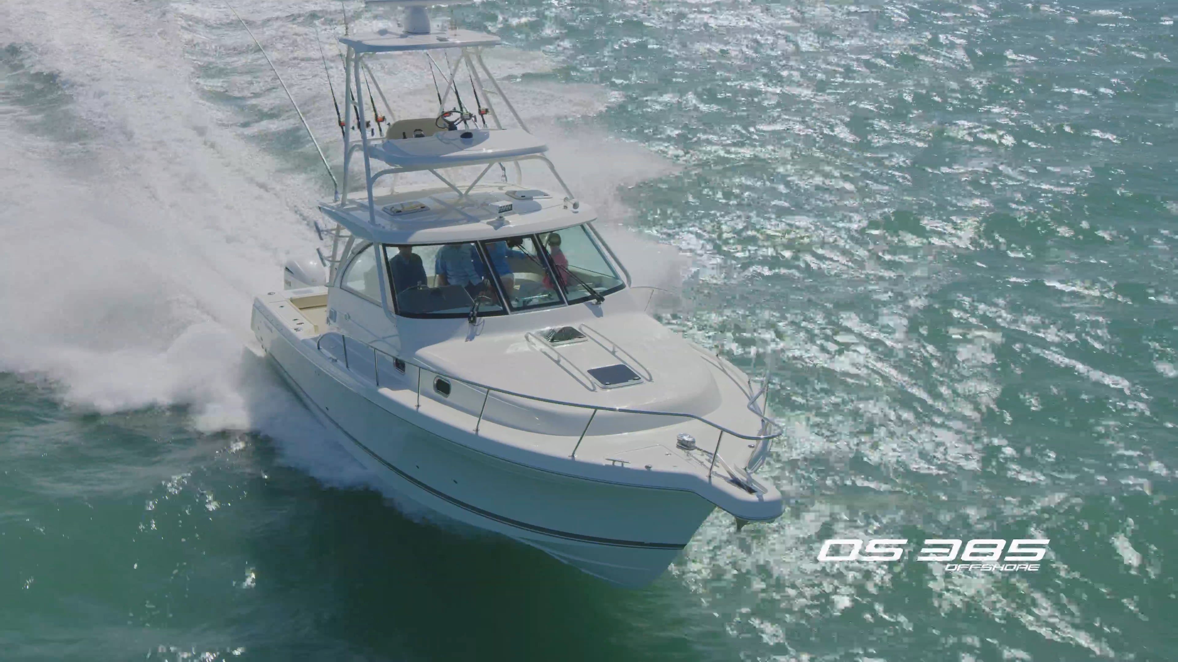 Pursuit Boats All New DC 326. Watch video now.