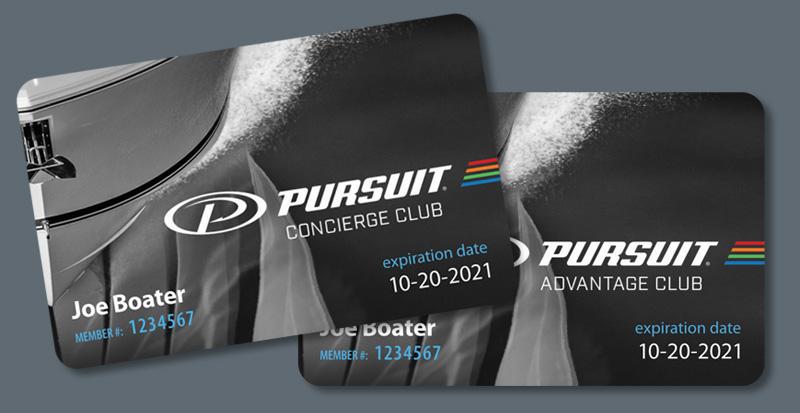 Pursuit Concierge & Advantage Clubs