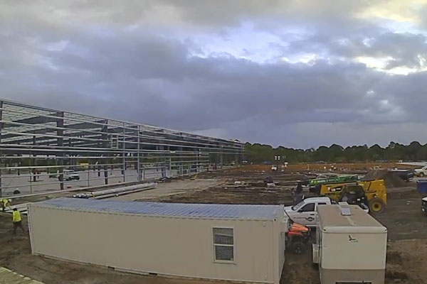 Timelaps video of Pursuits new expansion site.