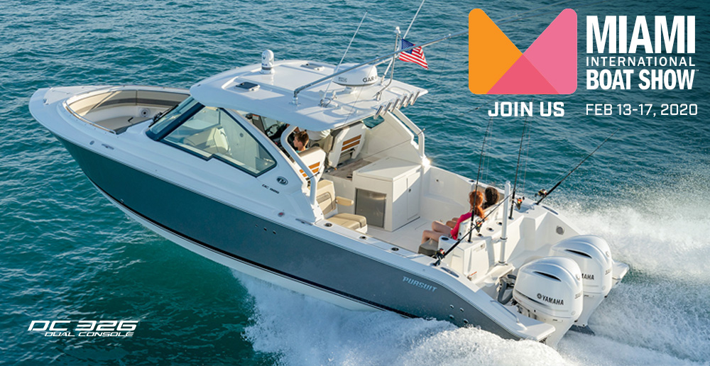 JOIN US AT THE MIAMI INTERNATIONAL BOAT SHOW