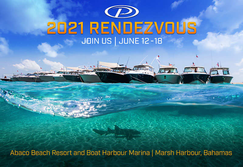 2021 Rendezvous Join us June 12-18. Abaco Beach Resort and Boat Harbour Marina. Marsh Harbour, Bahamas